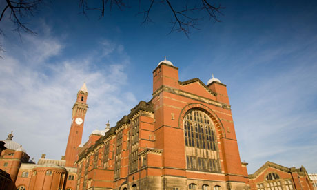 Birmingham University successfully obtained a high court injunction to ban 'occupation-style' protests. Photograph: Martin Bache/Alamy