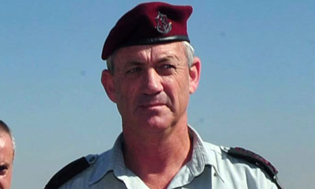 Benny Gantz said there would be 'no escape from conducting a significant operation'. Photograph: Ariel Hermoni/EPA