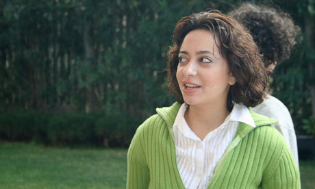 Razan Ghazzawi, a Syrian blogger, has been arrested. Photograph: Jillian C York