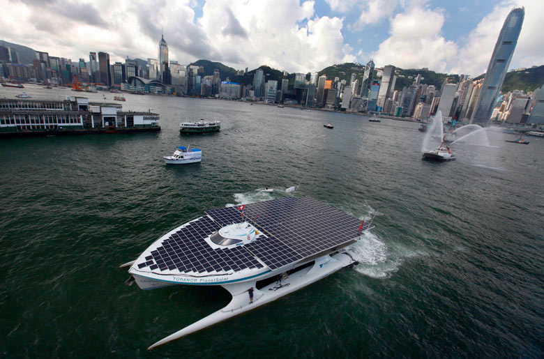 Eyewitness: Sail on, sail on solar sailors