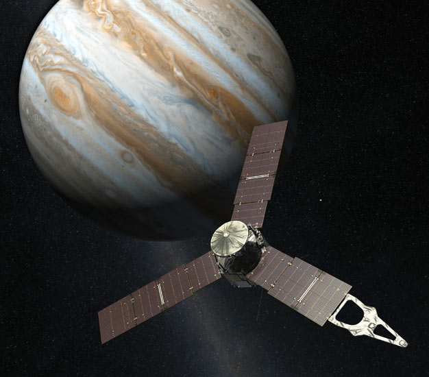 Juno space probe prepares for a suicide mission to Jupiter ...