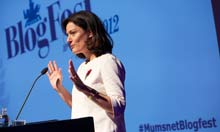 Thumbnail for Mumsnet bloggers converge on London | Media | The Observer