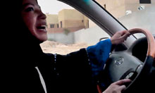 Thumbnail for This year let's celebrate … the Saudi women's driving campaign ...