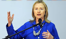 Thumbnail for Open or closed society is key dividing line of 21st century, says Hillary Clinton