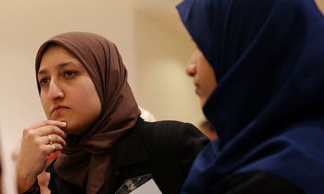 'It is heartening to see a proliferation in Muslim women's networks and forums right across the UK.' Photograph: Linda Nylind for the Guardian