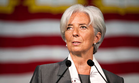 IMF managing director Christine Lagarde. Photograph: Dominick Reuter/Reuters
