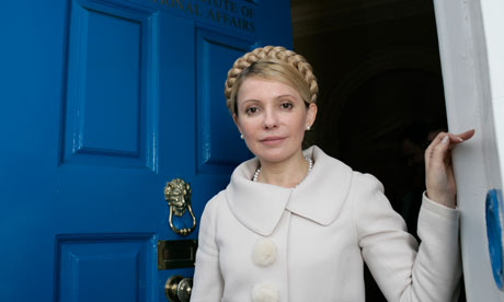Jailed opposition leader Yulia Tymoshenko was beaten in prison and is now on hunger strike. Photograph: Eleanor Bentall/  Eleanor Bentall/Corbis