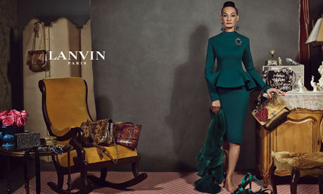 Supermodels sidelined as Lanvin puts 'real' women in fashion ads
