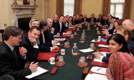 british cabinet reshuffle 1