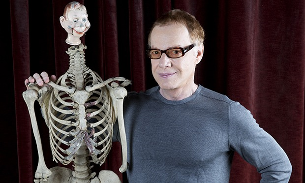 danny elfman on his knees