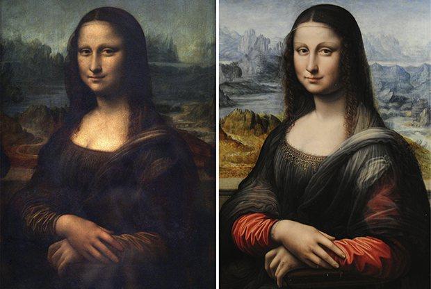 Mona Lisa And Copy