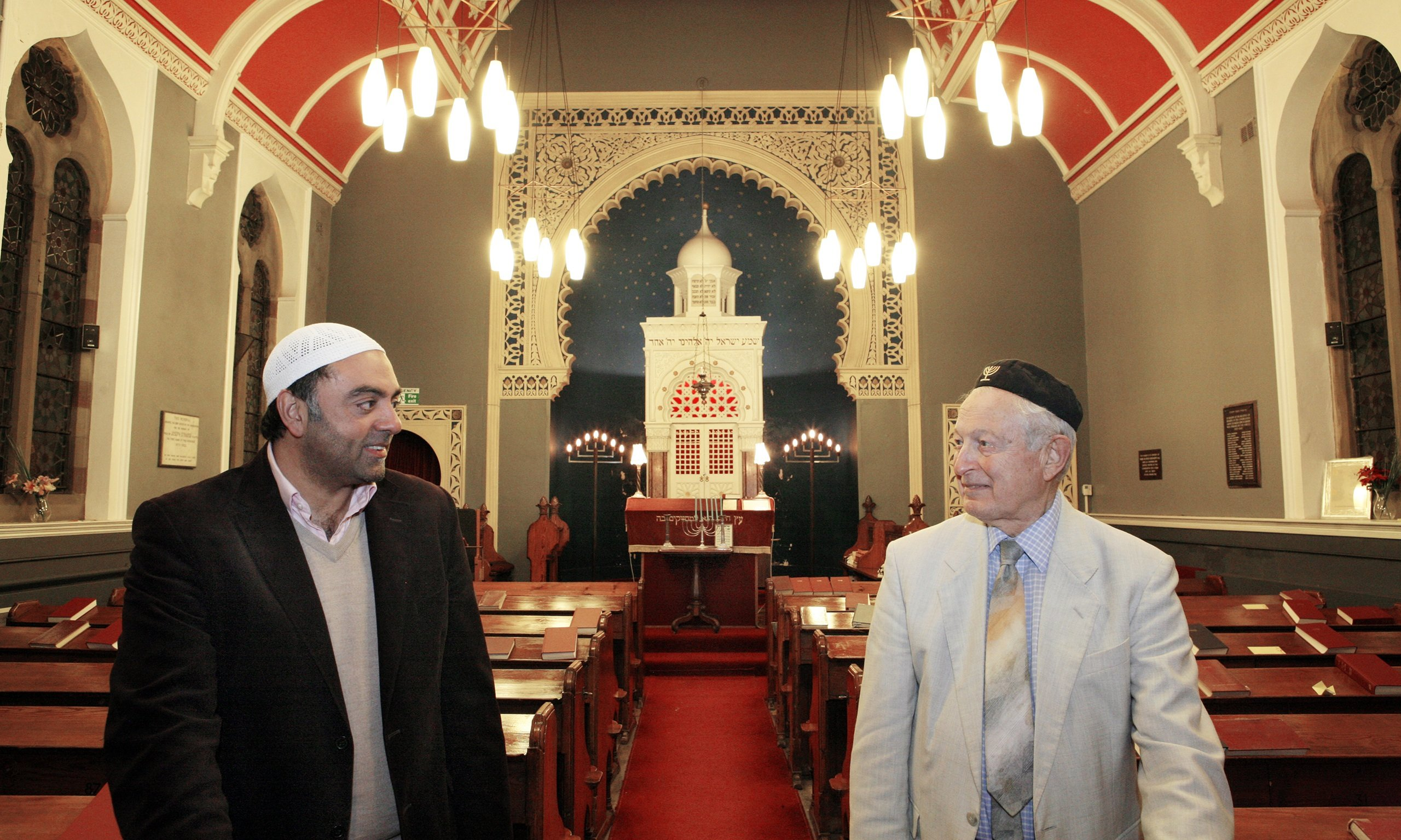 Bradford synagogue saved by city's Muslims