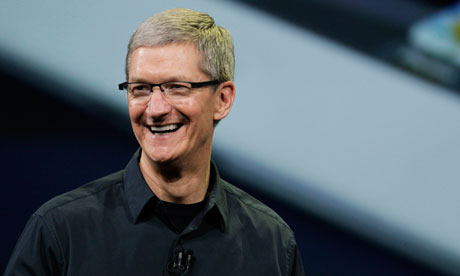 Apple CEO Tim Cook asks parishioners to have a little faith in investments