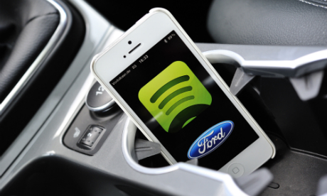 Spotify strikes Ford deal to fuel its in-car music ambitions