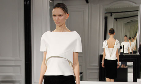 Paris fashion week: Alexander Wang makes confident debut at Balenciaga