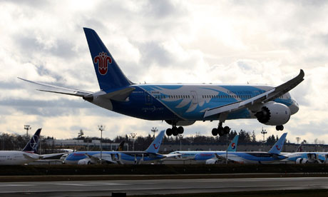 Boeing presents Dreamliner battery fix to FAA in bid to get back in the air