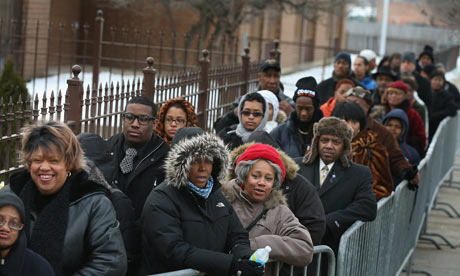 Michelle Obama joins hundreds at Chicago funeral for Hadiya Pendleton
