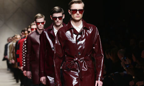 Burberry brings its menswear home - to the London catwalk