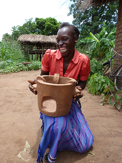 Malawi warms to sustainable stoves - in pictures