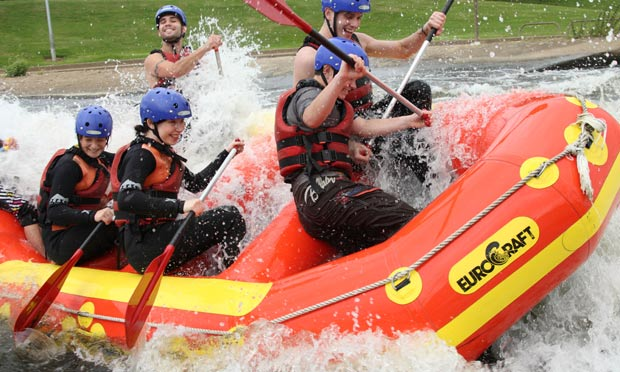 Holme Pierrepont White Water Course, Nottingham Video July ...