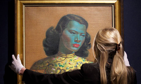 Tretchikoff's Chinese Girl fetches nearly £1m at auction