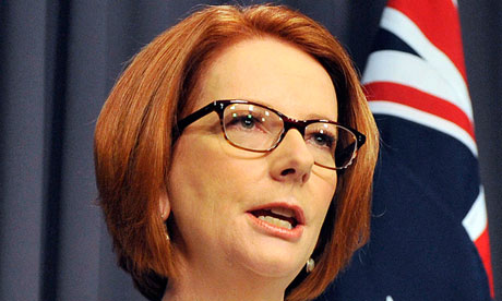 Julia Gillard feels the edge of the Labor leadership gender divide