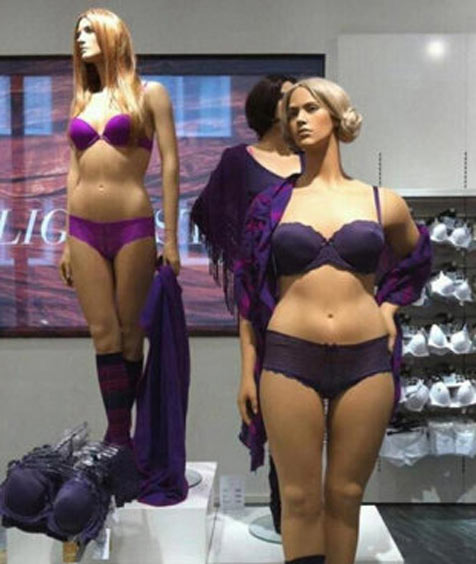 Why shop mannequins need to be like real women