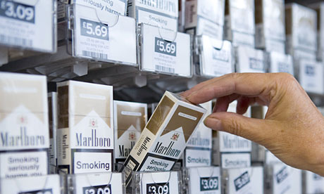 Tesco and Sainsbury's urged to stub out cigarette displays in smaller stores