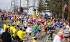 Thumbnail for 15, Apr 2013 - Boston Marathon blasts: three dead and more than 100 injured – as it happened