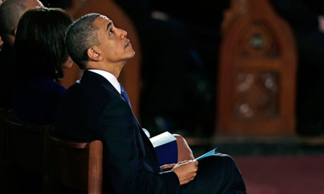 Thumbnail for 18, Apr 2013 - Obamas join Boston at memorial for marathon bombing victims