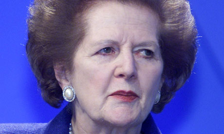 Margaret Thatcher and misapplied death etiquette