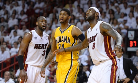The Guardian Paul George wins battle with Lebron James as Pacers beat Heat in Game Two