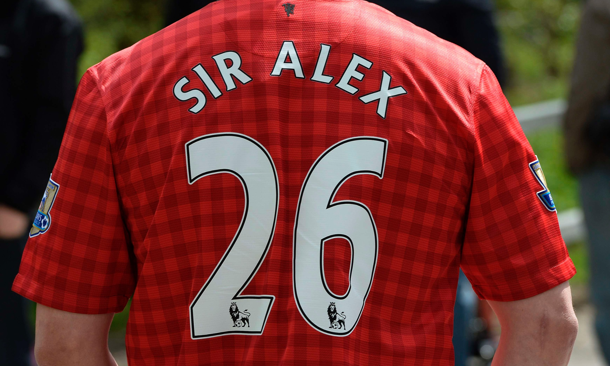 Alex Ferguson Retires As Manager Of Manchester United As