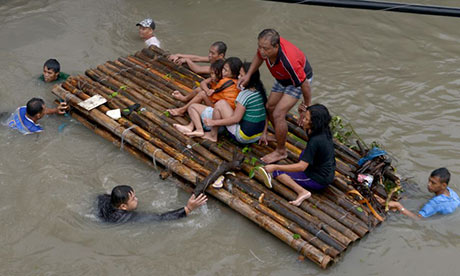 Philippines swamped after days of torrential rain