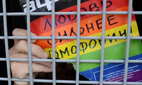 Russian anti-gay law prompts rise in homophobic violence