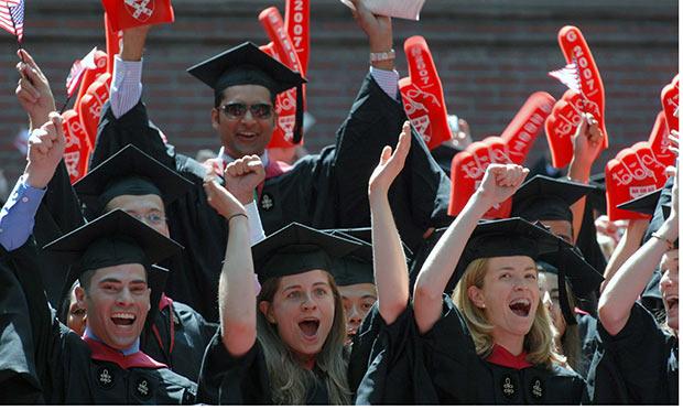 Harvard Business School is flying the flag for women
