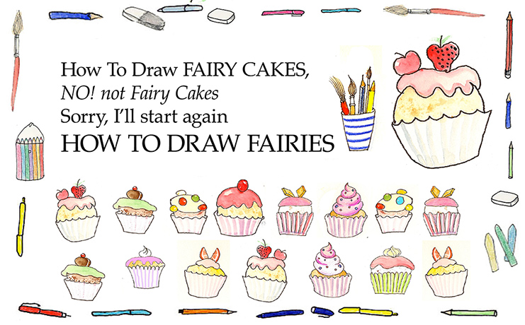 how to draw fairies book
