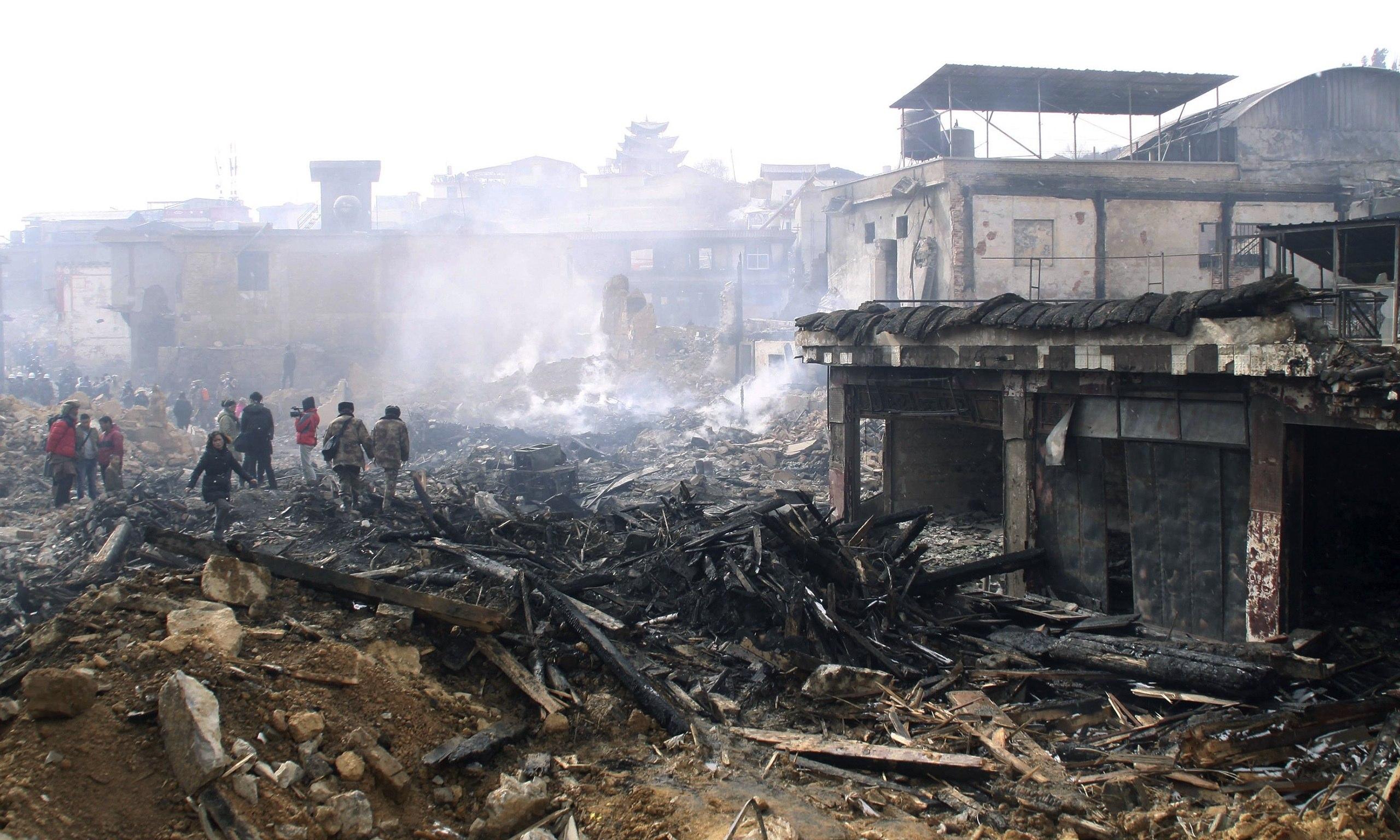 Shangri-La fire defence was shut off while Tibetan town burned