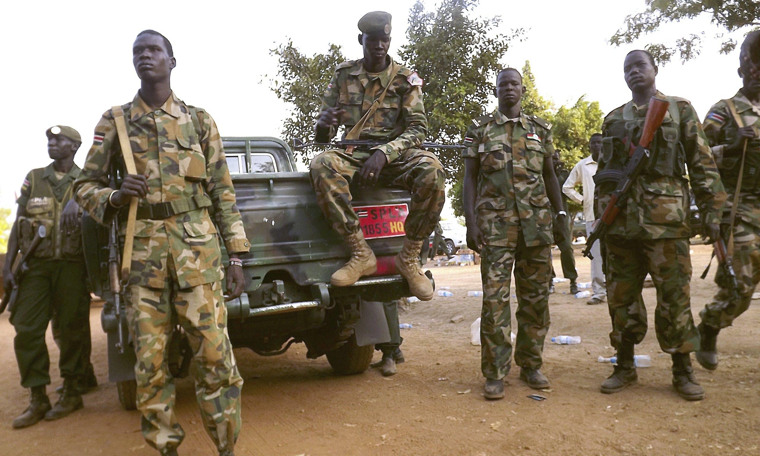 south sudan rebels forcibly recruiting civilians amid