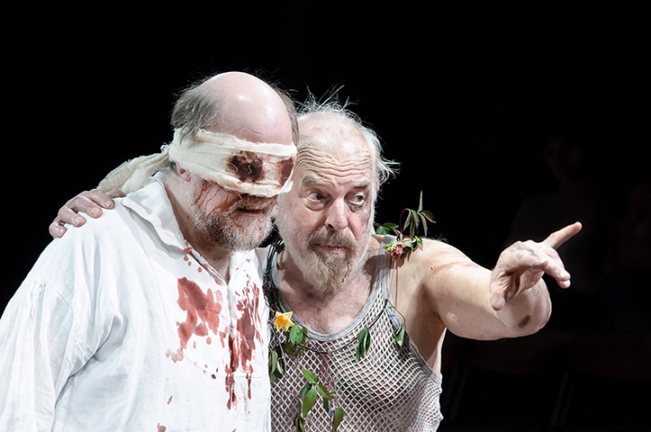 comparison king lear and gloucester Sir ian mckellen as king lear, left, with danny webb as gloucester  lear is  both the ancient celtic king of curses and superstition and the.