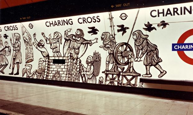 Charing Cross tube station #