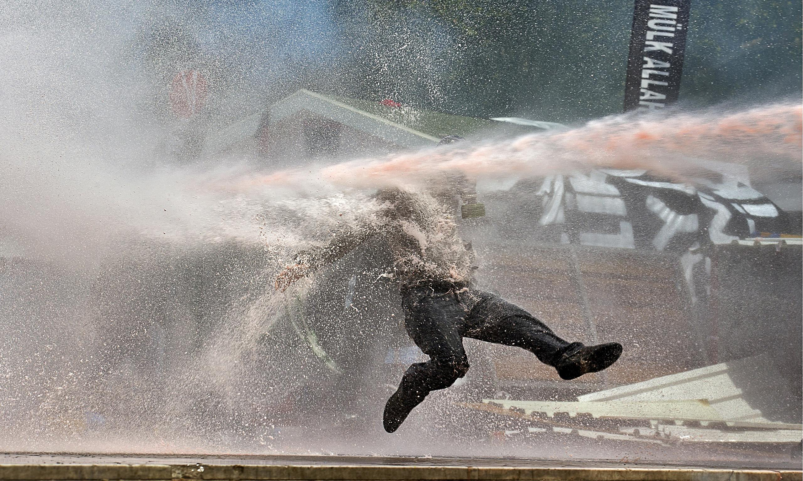 Is Britain ready for water cannon?