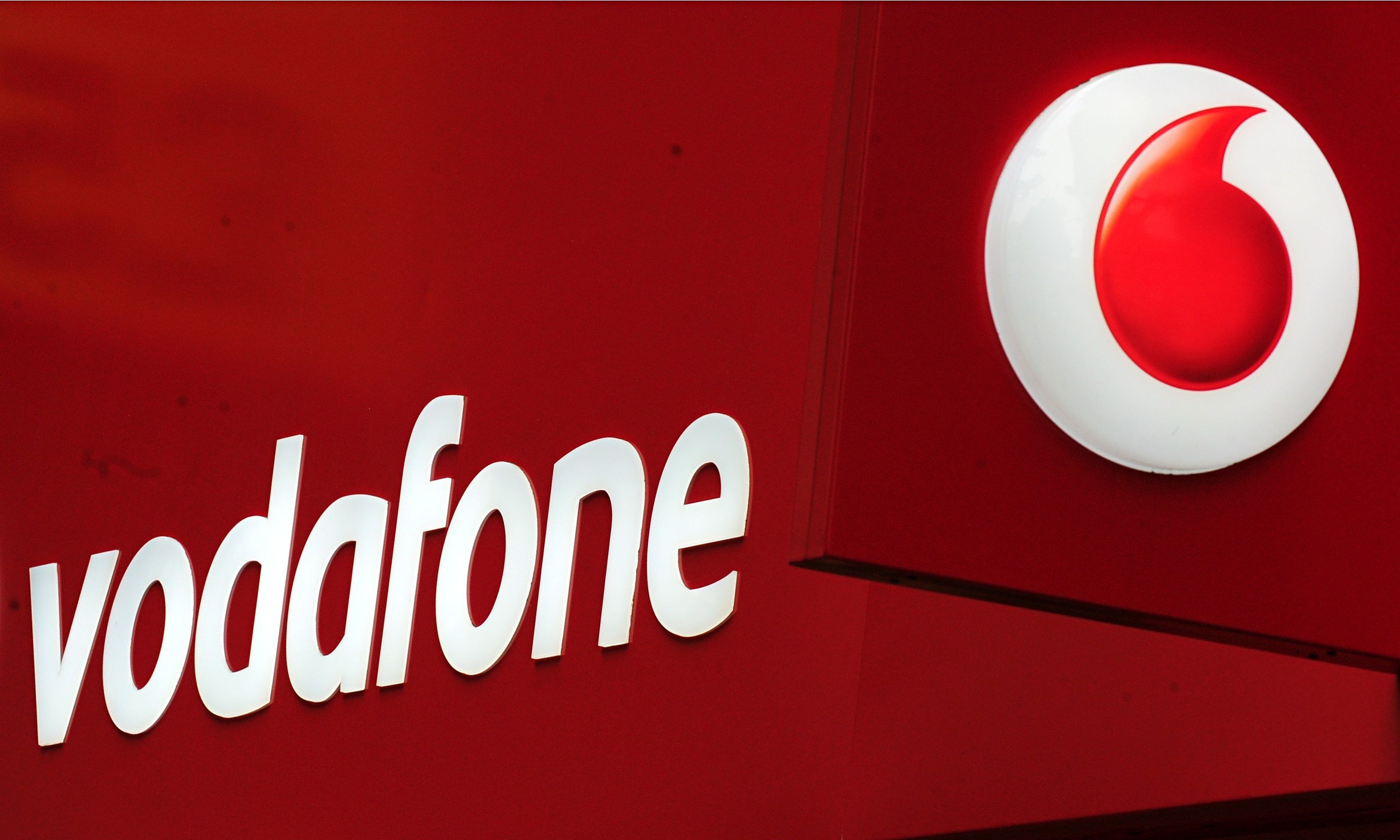 Vodafone's purchase of...