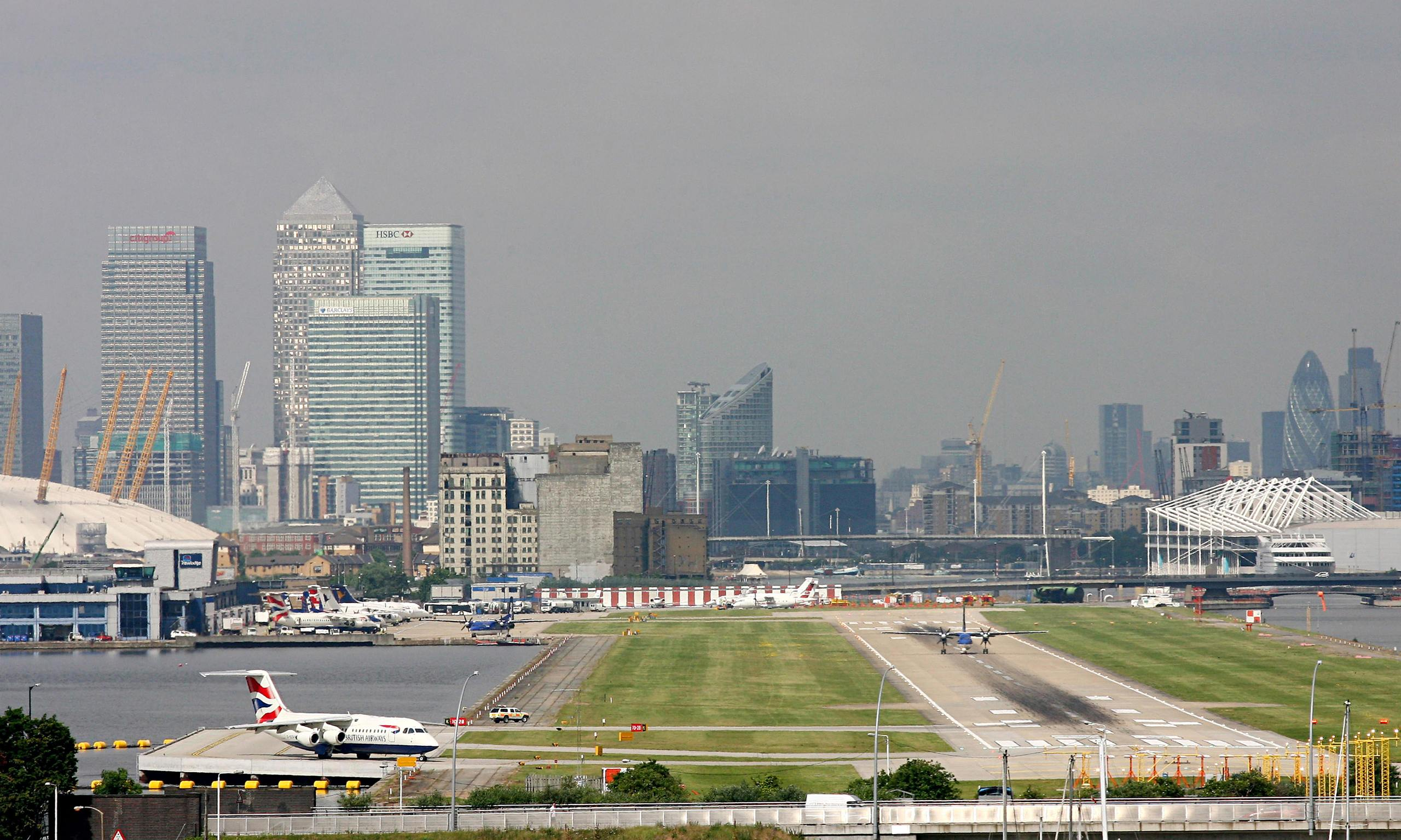 Image result for london city airport