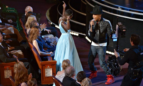 Pharrell and Lupita