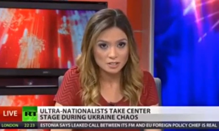 Russia Today news anchor Liz Wahl resigns live on air over Ukraine crisis