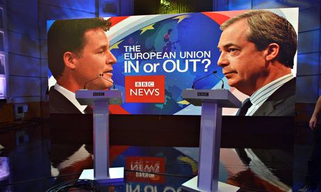 Farage and clegg debate 011