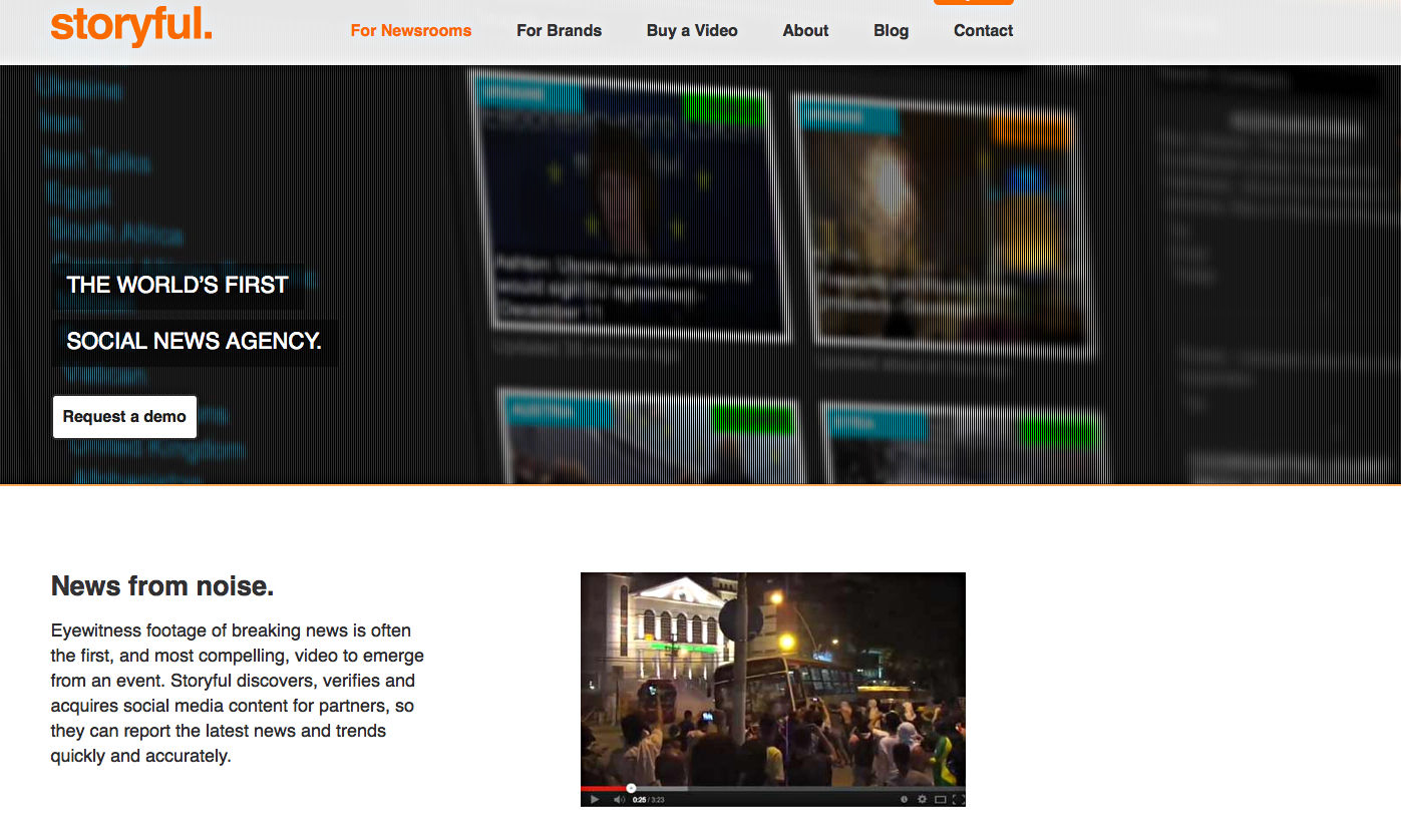 Facebook and Storyful launch FB Newswire