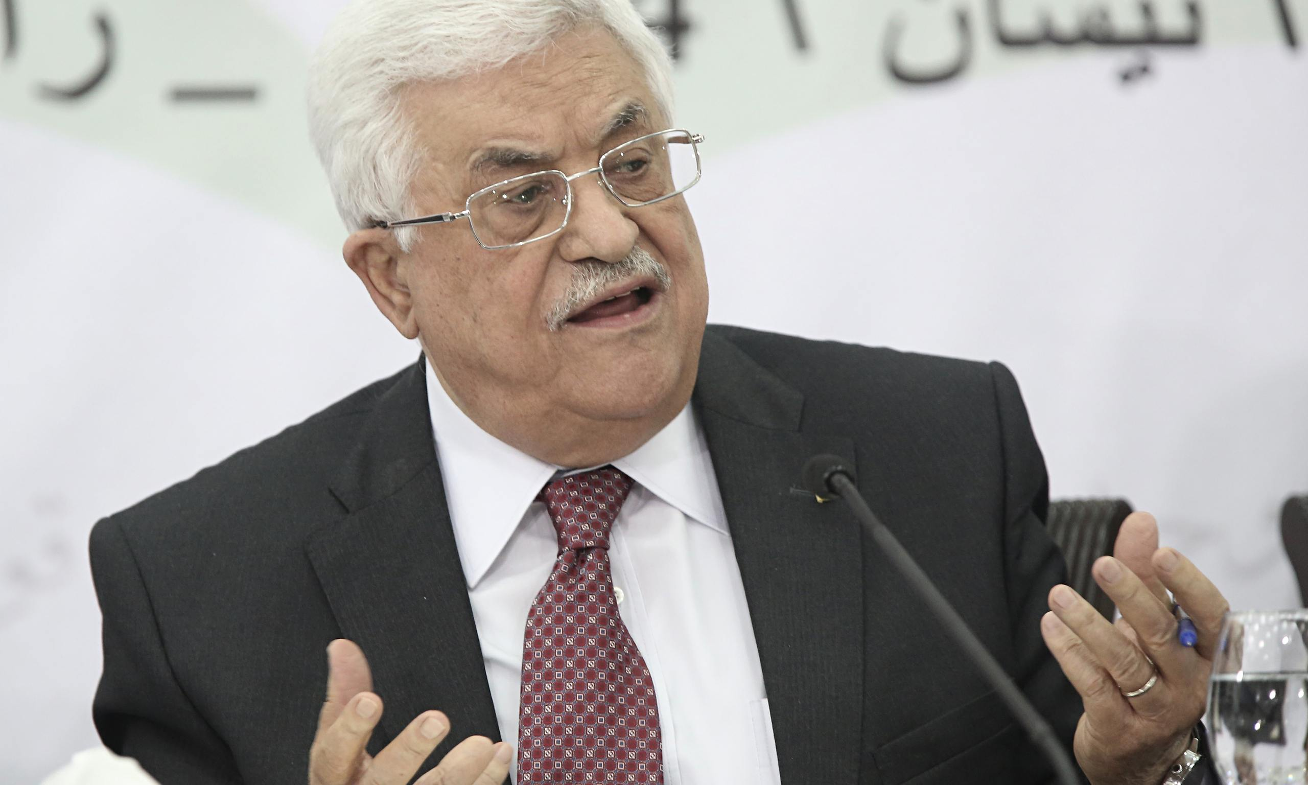 Holocaust 'most heinous crime' of modern history, says Mahmoud Abbas