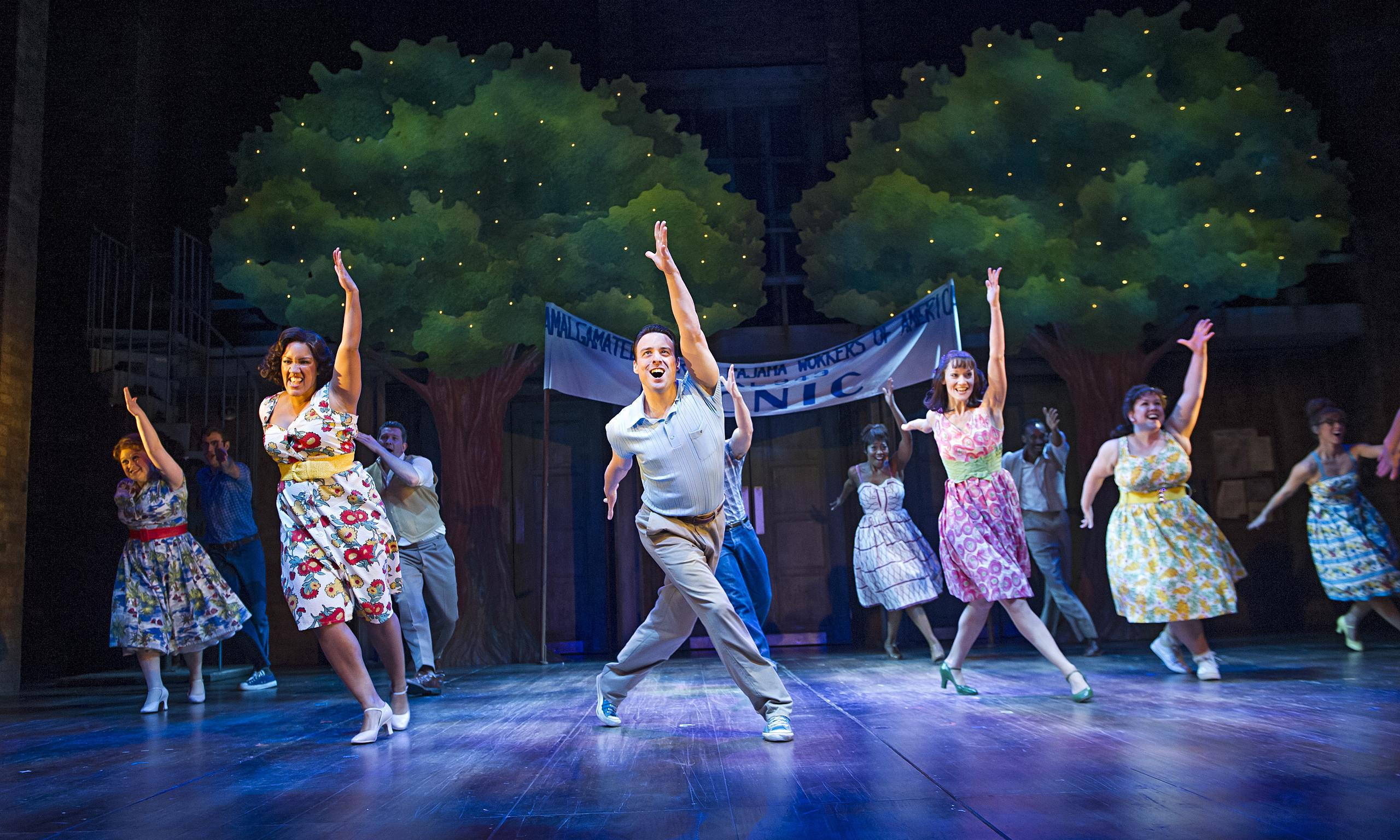 The Pajama Game review – uplifting musical where passion ...